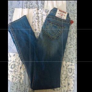 True Religion Stretchy Skinny Jeans Size 26